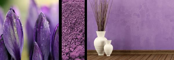 Lavender pigment example (mockup)