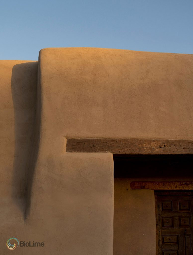 Soft southwestern territorial style with BioLime