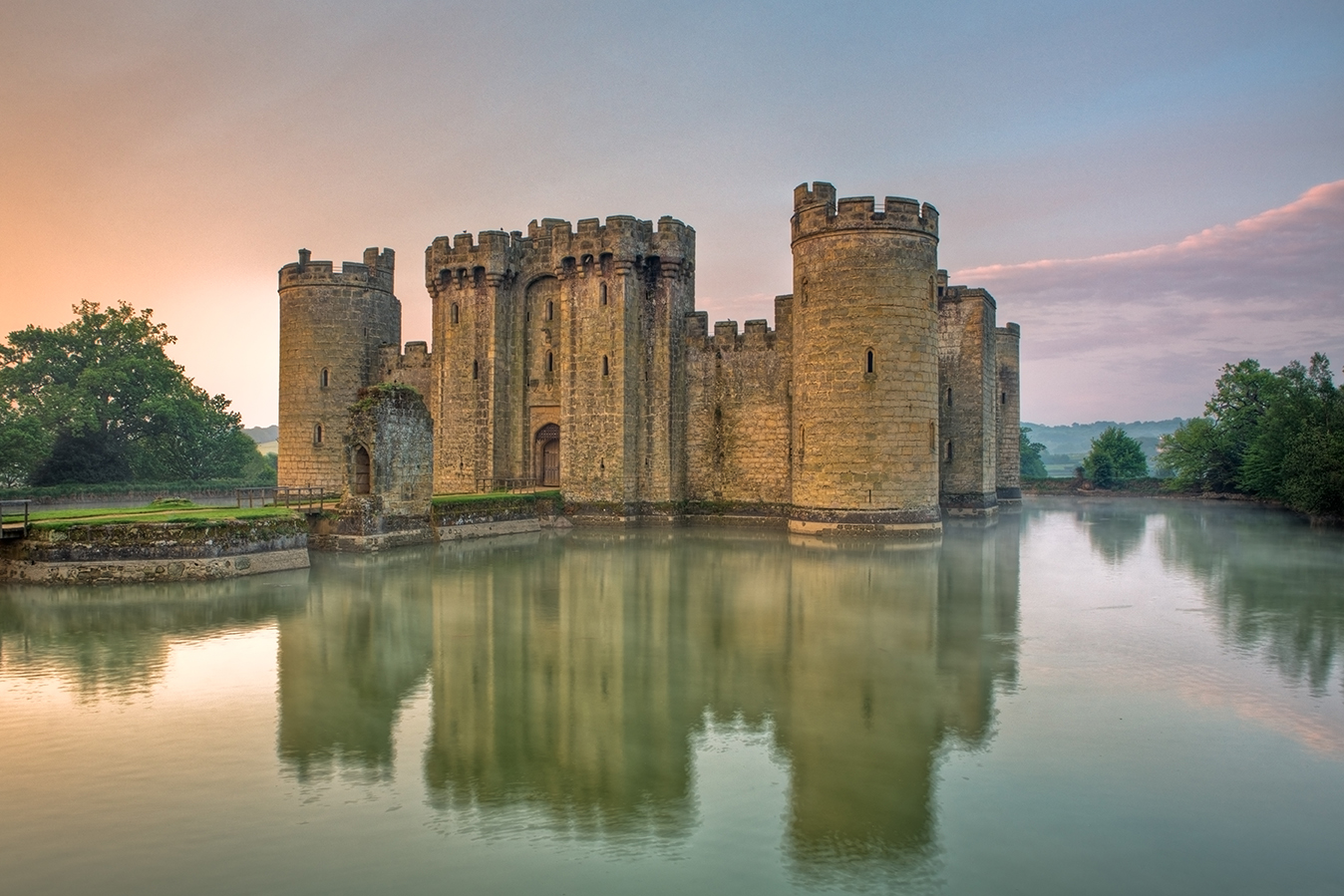 Picture of Medieval Castle on a lake