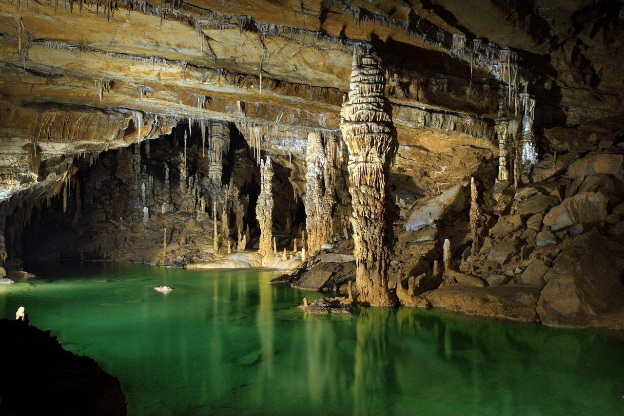 Mammoth cave interior